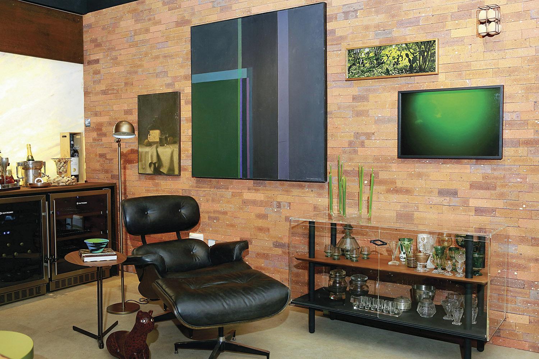 Riomar casa 2017. Ambiente adega lounge por ROBERTA BORSOI, MONIKA SIMON E RAFAELLA LYRA. Fotos: Marcelo marona