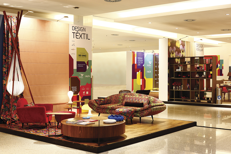 Riomar Design e Decor. Design Textil por Diomari Diniz. Foto por Marcelo Marona