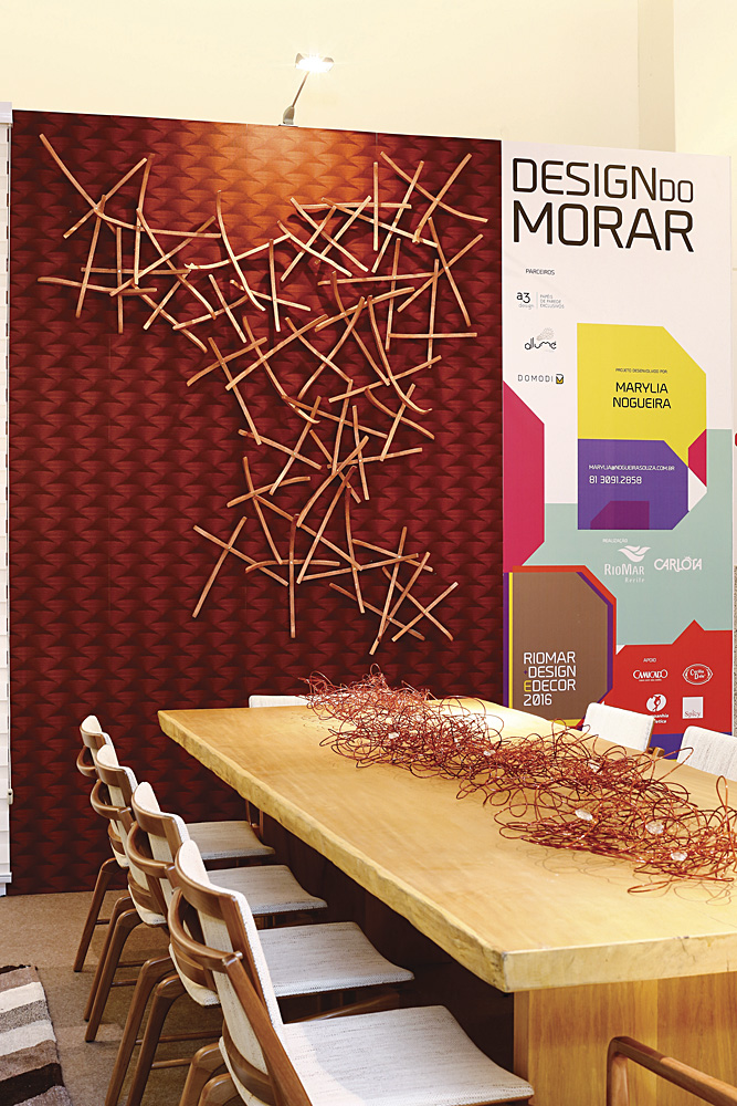 Riomar Design e Decor 2016. Design do morar por marylia nogueira. Foto: marcelo marona