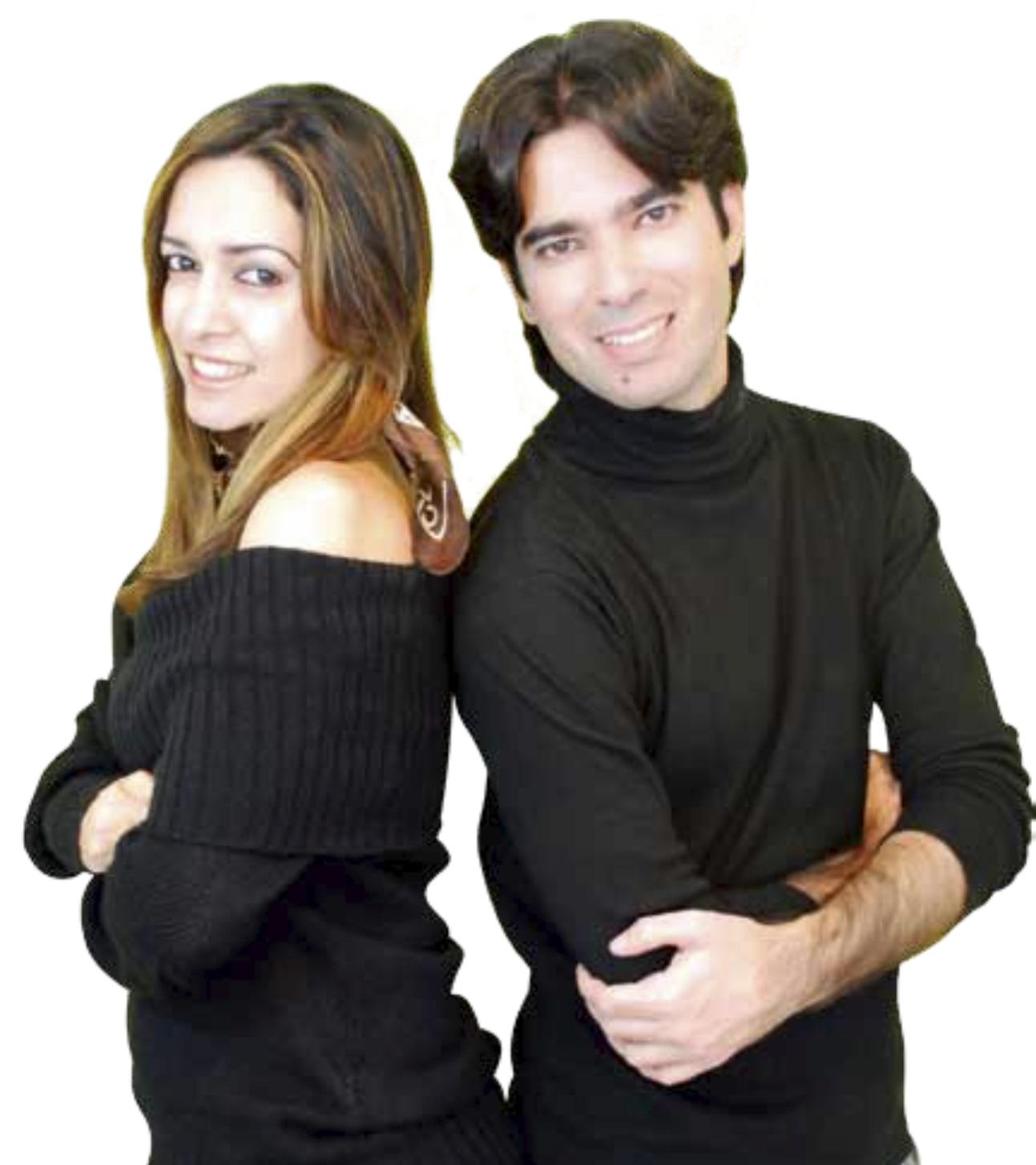 Arquitetos e sócios Eric Dayan e Nadjânia Gomes