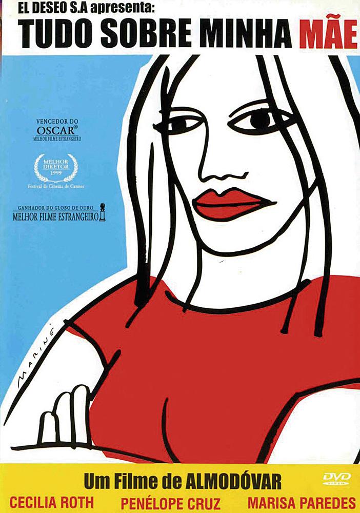 Cartaz do filme Tudo Sobre Minha Mãe