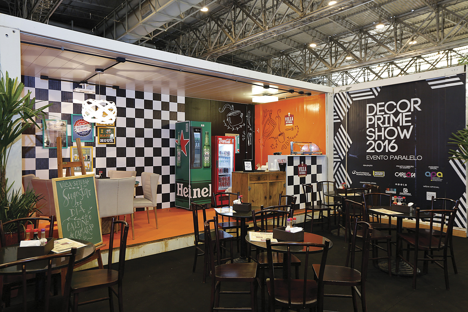 Vila setubal bar por amaral tenorio no decor prime show 2016