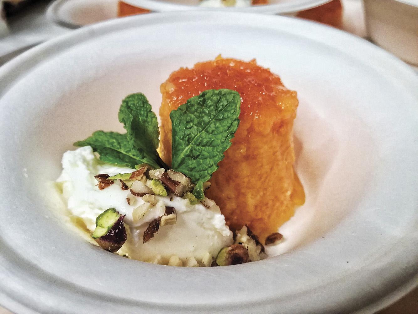Prato gastronomico feito pelo Chef Jose Avillez