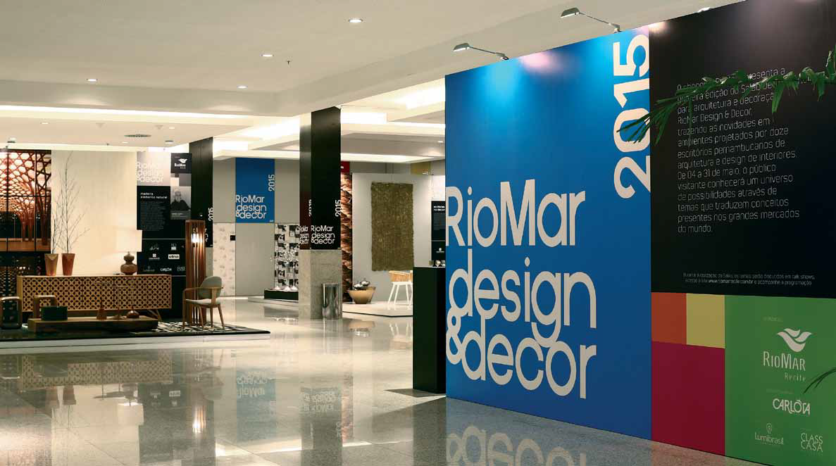 Entrada do evento riomar design decor 2015